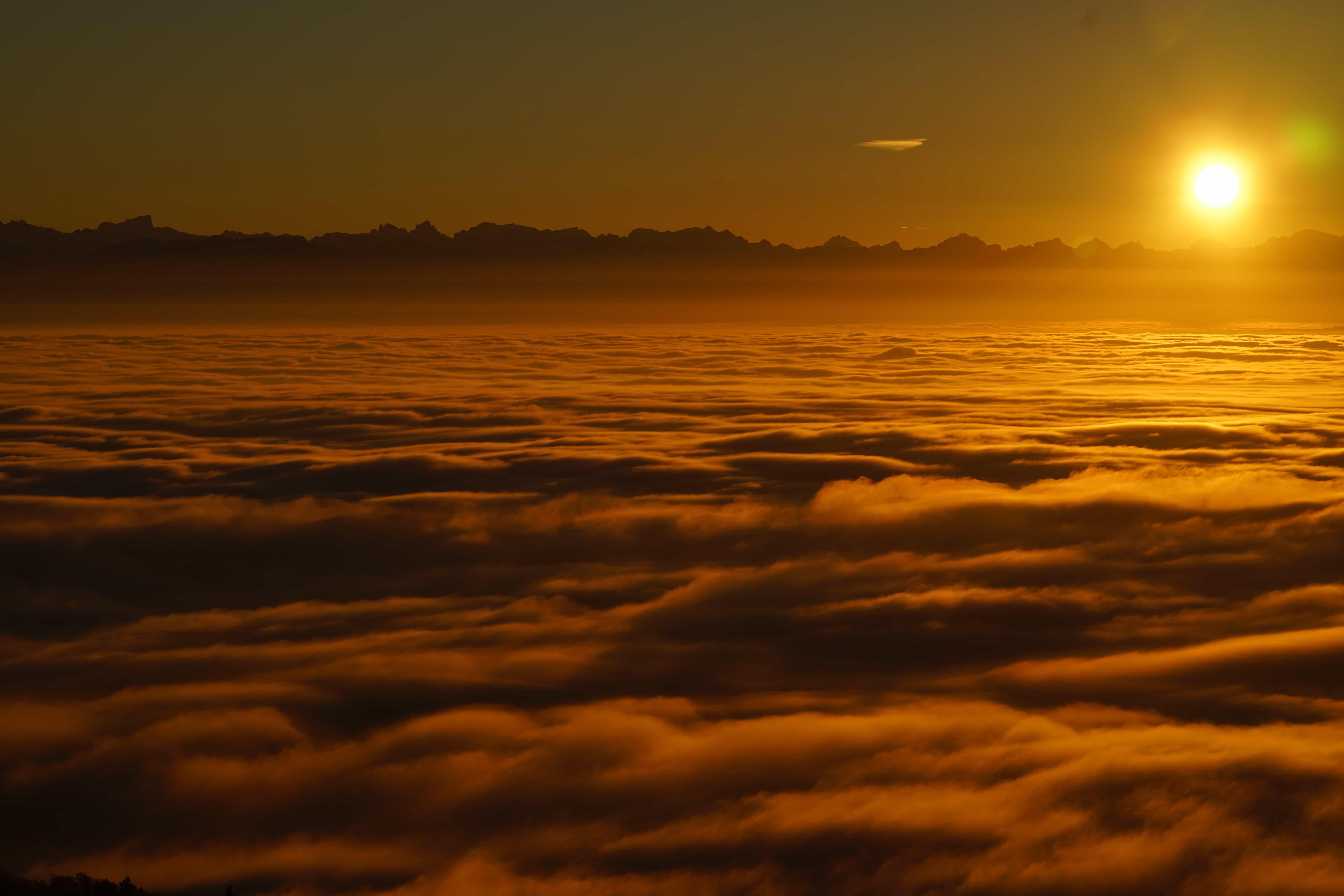 Free Picture: Sunrise, Dawn, Sun, Dusk, Cloud