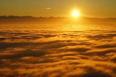 sunrise, cloud, sun, dawn, dusk, sunrise