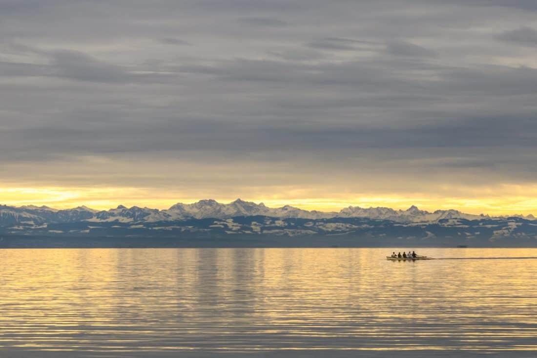 พระอาทิตย์ขึ้น แสงแดด แปซิฟิก รุ่งอรุณ ซัน ทะเลสาบ น้ำ สะท้อน ทะเล ท้องฟ้า