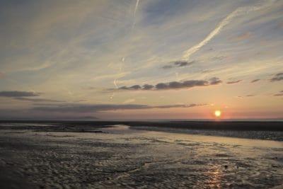 salida del sol, la luz del sol, Pacífico, playa, agua, mar, océano, paisaje, amanecer, paisaje marino