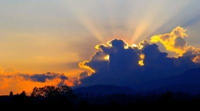 Sonnenaufgang, Wolke, Sunslight, Himmel, Dämmerung, Landschaft, Sonne, Natur, outdoor