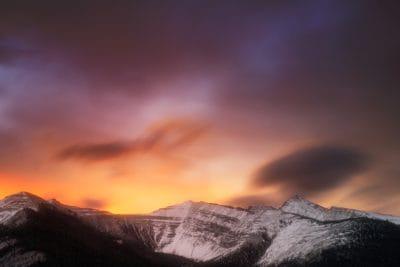 brume en plein air, lever de soleil, aube, ciel, montagne, soleil, nature, paysage
