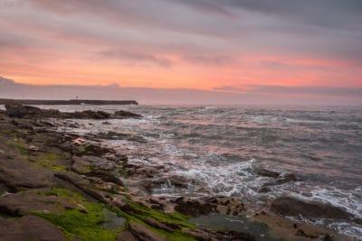 salida del sol, nube, Pacífico, agua, mar, playa, mar, playa, amanecer, paisaje