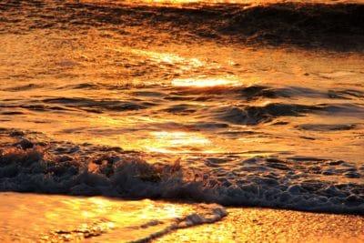 sunrise, wave, backlit, water, sea, dawn, ocean, beach, dusk, seascape