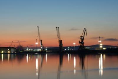 Wasser, Sonnenuntergang, Fluss, Sonnenaufgang, Natur, Himmel, Pier, Meer, Reflexion