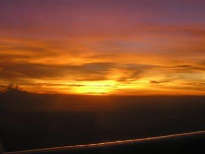 Alba, nube, colorato, alba, sole, tramonto, cielo, atmosfera, alba, oceano