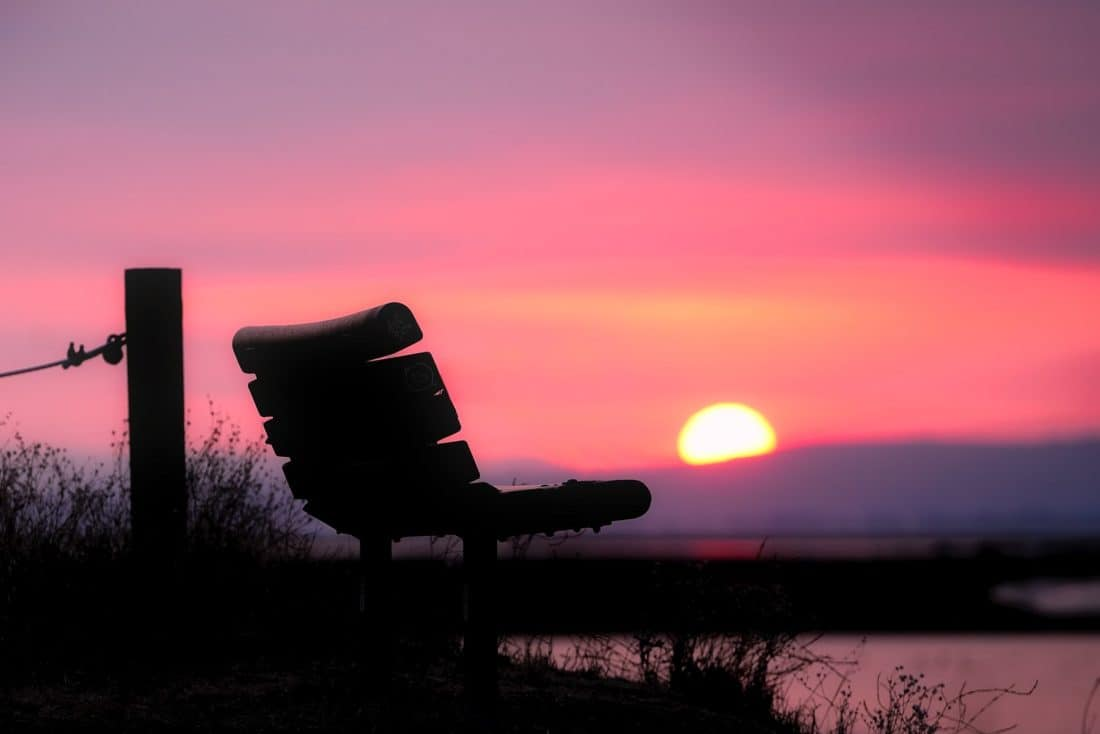 Sunrise, tieň, silueta, dawn, podsvietený, súmraku, slnko, príroda