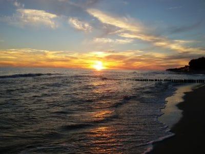 lever du soleil, ciel, rétro-éclairé, l'eau, aube, crépuscule, soleil, plage, mer, ciel, plein air