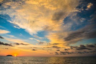 Alba, nube, sole, pacifica, luce solare, acqua, alba, sole, tramonto, cielo, all'aperto