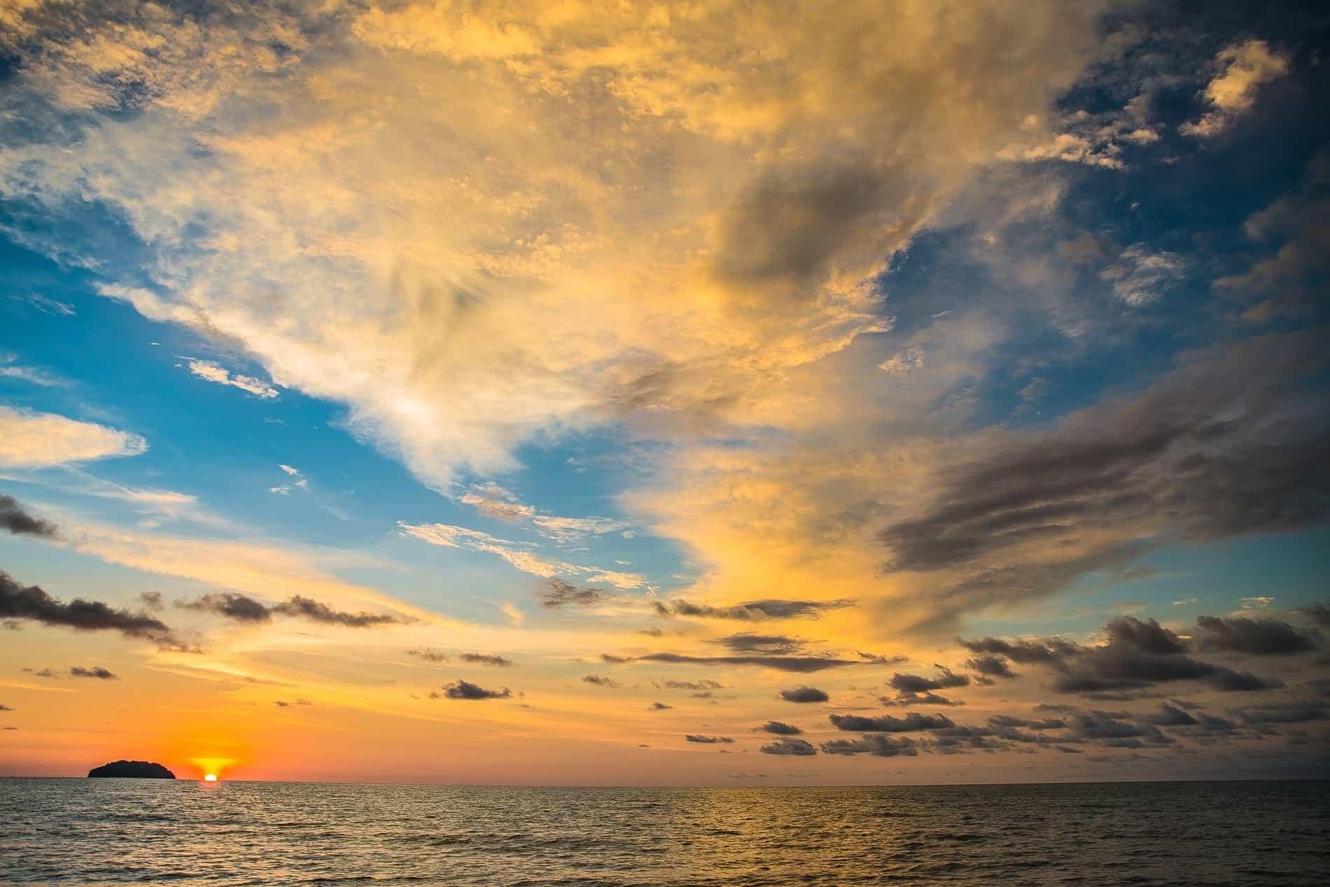 Free Picture  Sunrise  Cloud  Sunshine  Pacific  Sunlight
