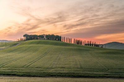 colina, agricultura, paisaje, campo, agricultura, naturaleza, cielo, campo