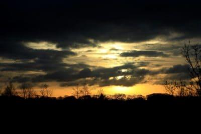 scuro, nube, ombra, alba, luce solare, cielo, paesaggio, sole, tramonto, alba, natura, buio