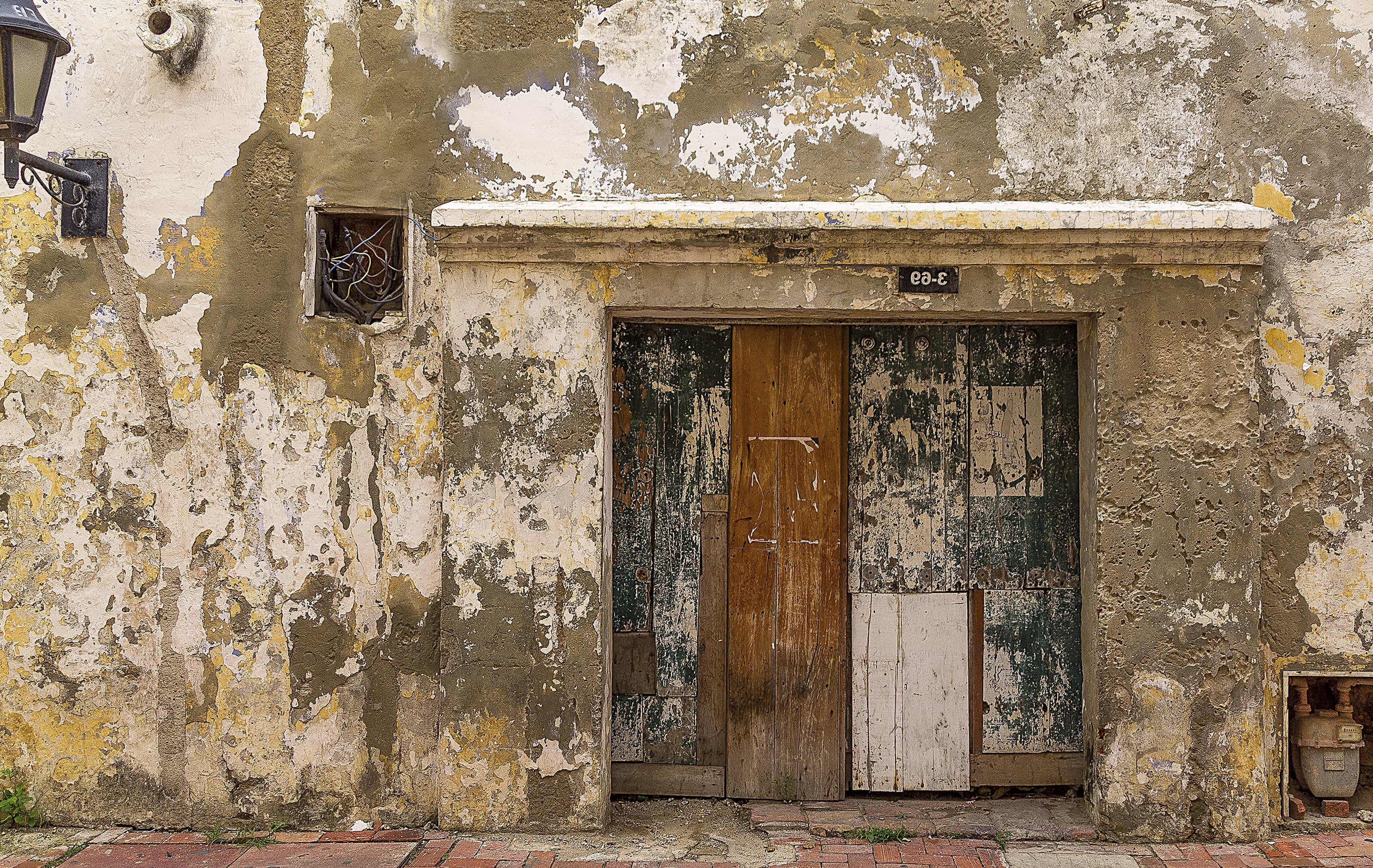Front House Door Texture With Architecture Front Door House Old Abandoned Wall Door Free Picture Wall