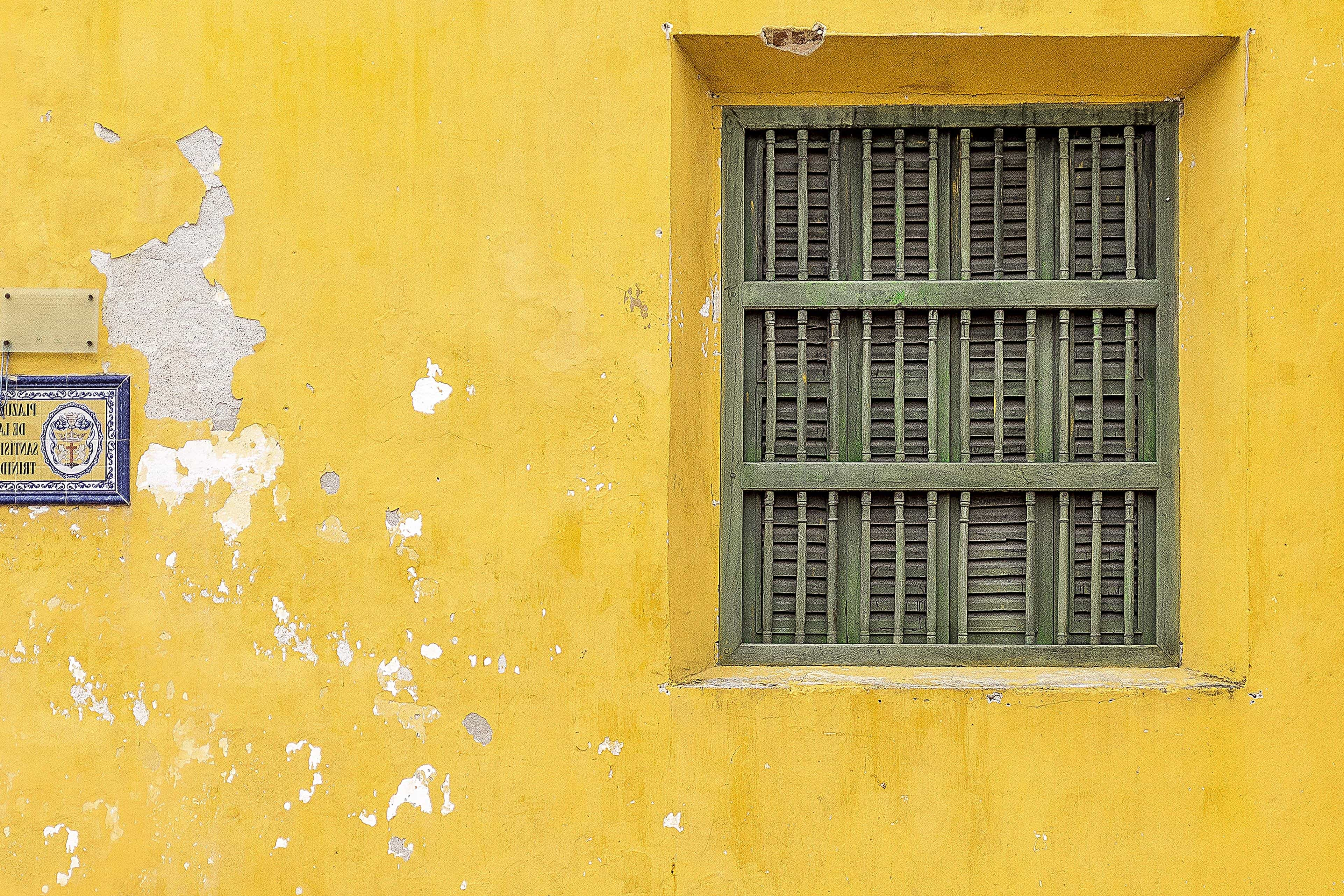 Free Picture Architecture Yellow House Window Old