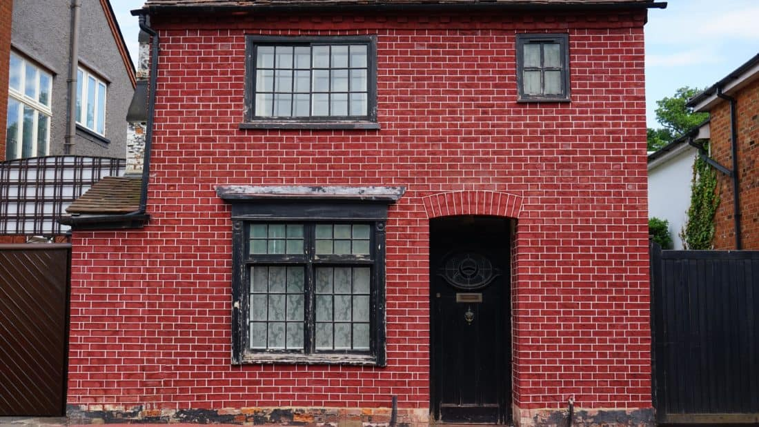 architecture, urban, house, residence, door, window, brick, old, facade, outdoor