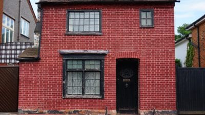 architecture, urban, house, residence, door, window, brick, old, facade, outdoor