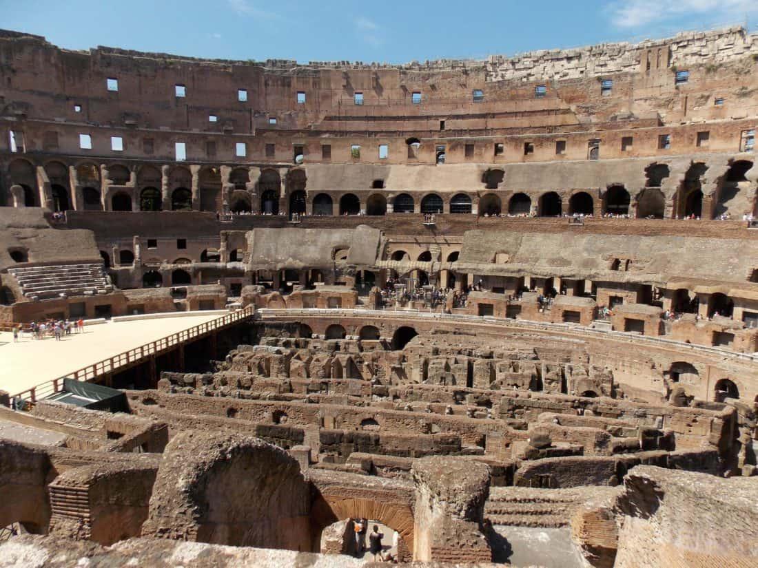 arhitekture, starih, amfiteatar, gradnja, Rim, Italija, Kina