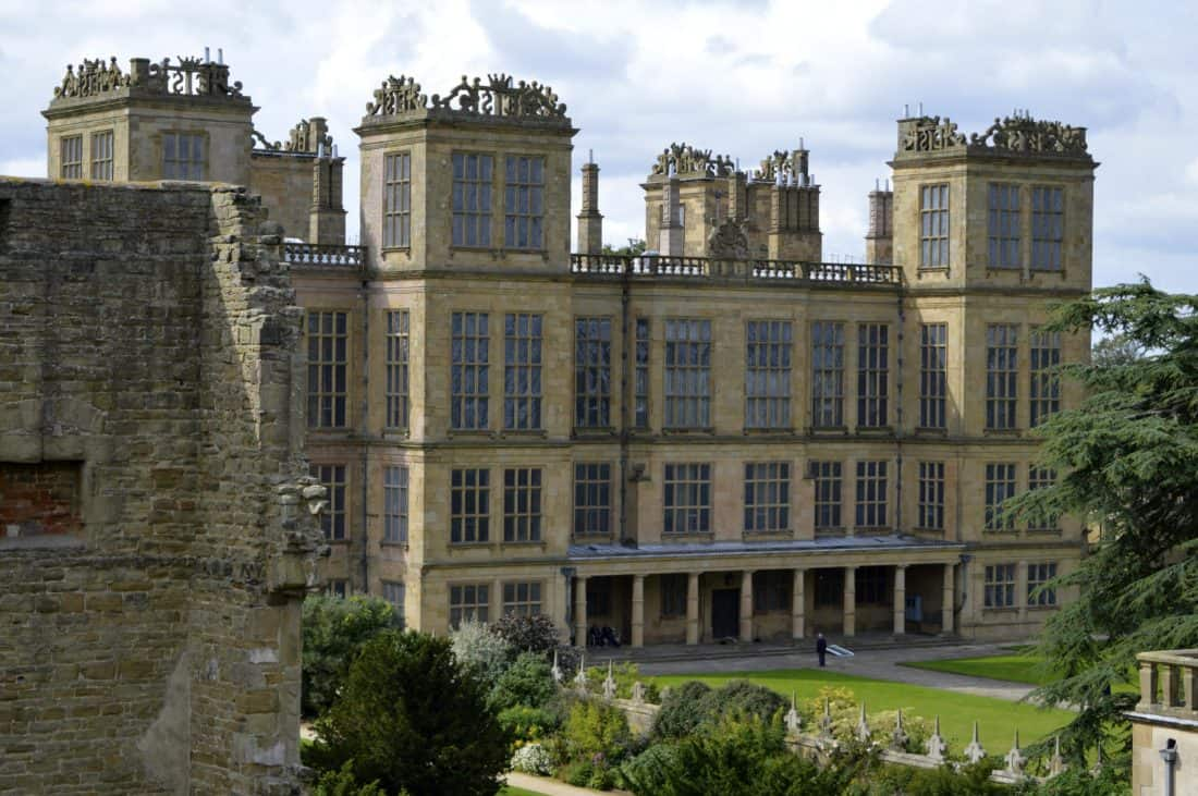 Architektur, Schloss, alte, Haus, Residenz Palast, Rasen, Wahrzeichen