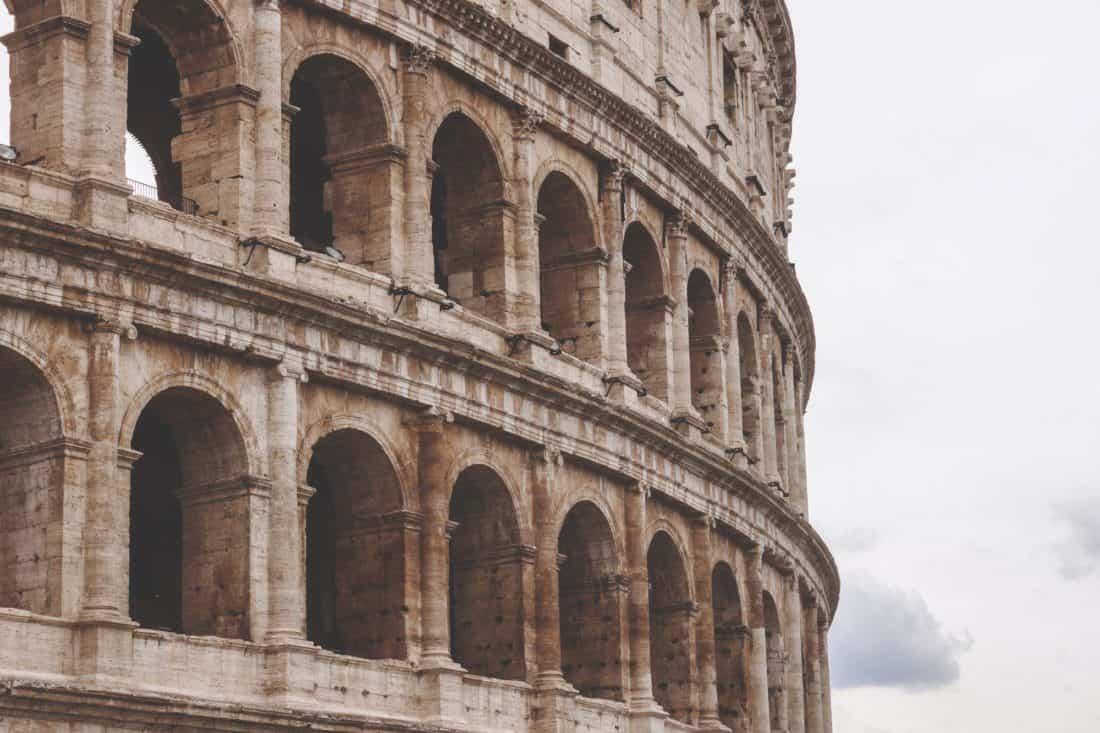 Kostenlose bild rom italien mittelalterliche kolosseum for Archi arredo roma