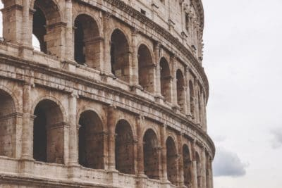 Rome, Italy, medieval, Colosseum, architecture, amphitheater, ancient, arch