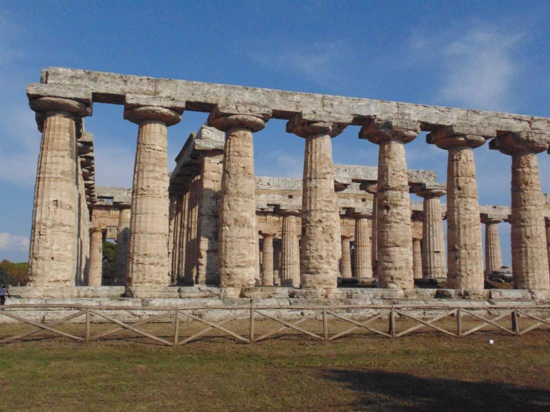Акропола, древна, археология, архитектура, Храм, небе, статуята