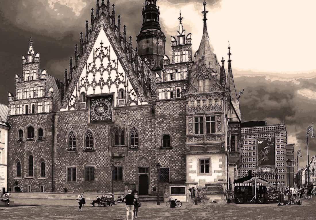 Architektura, monochromatický, palác, hrad, věž, město, dům, struktura