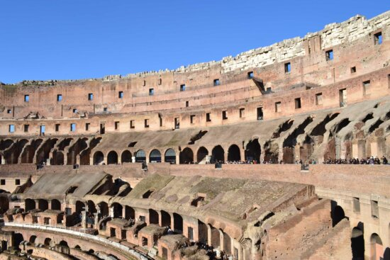 amphitheater, stadium, Rome, Italy, medieval, architecture, theater, Colosseum