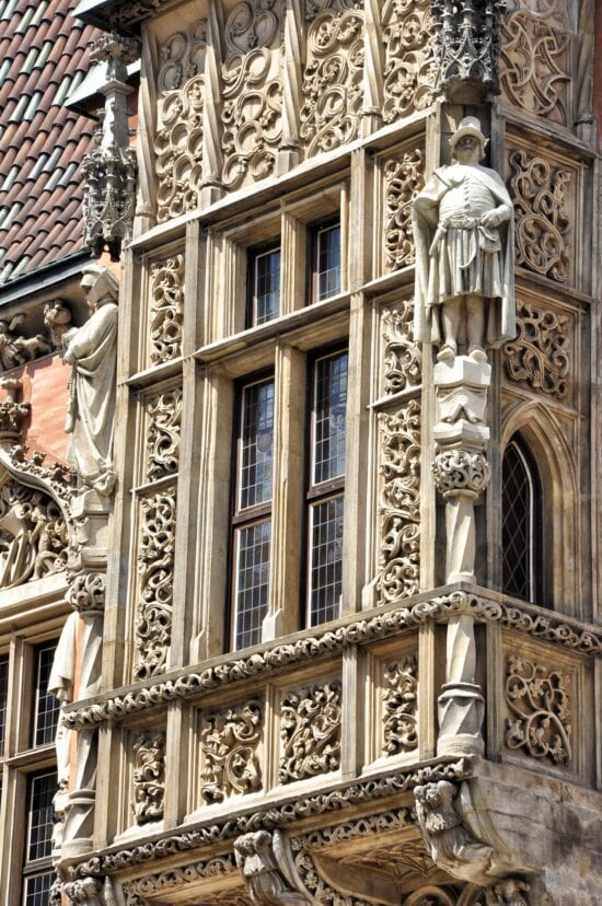 architecture, ancient, old, facade, Gothic, window, exterior