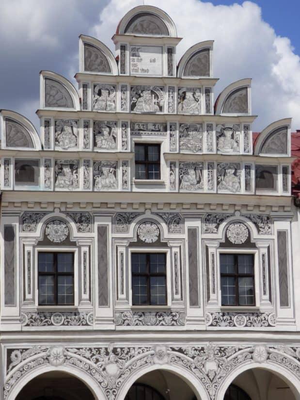 architecture, city, old, ancient, facade, facade, sky