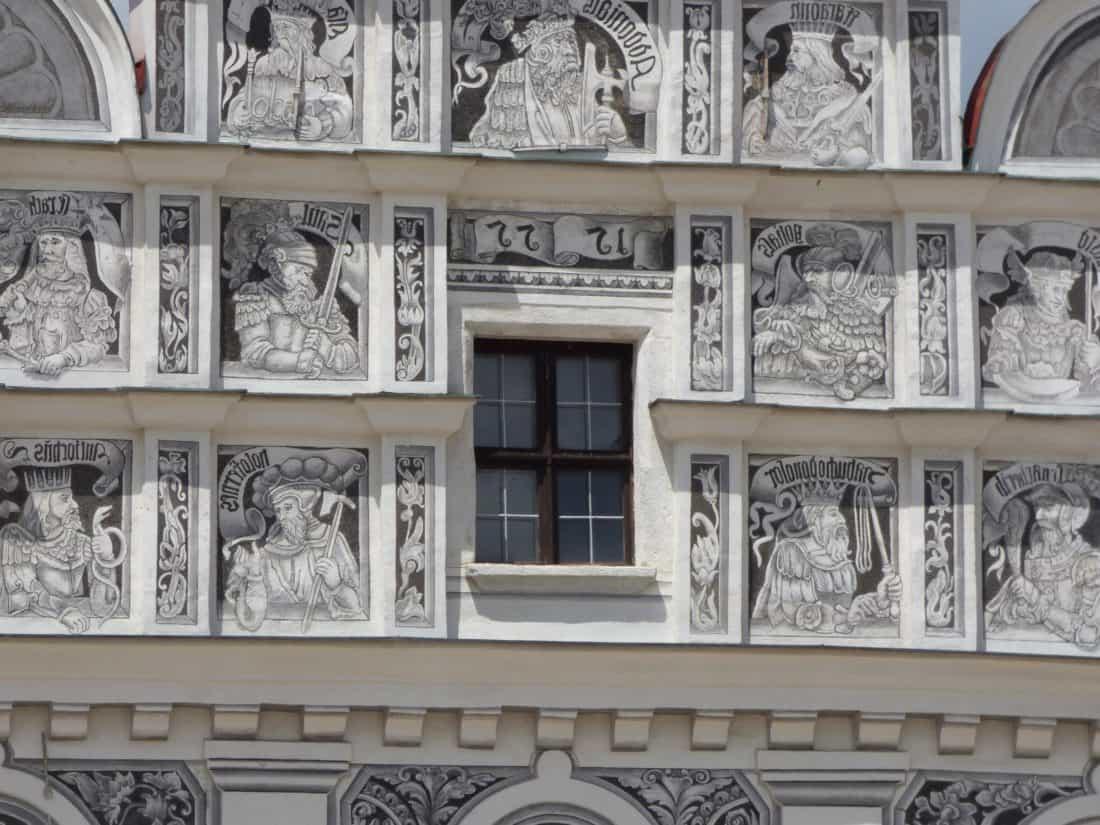 patung, perkotaan, fasad, arsitektur, seni, balkon, struktur, fasad