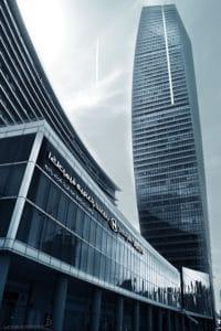 architecture, ville, ciel bleu, du centre-ville, moderne et urbain, ciel, paysage urbain