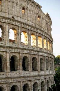 Архитектура, амфитеатр, Рим, Италия, средневековой, Колизей, древние, старые