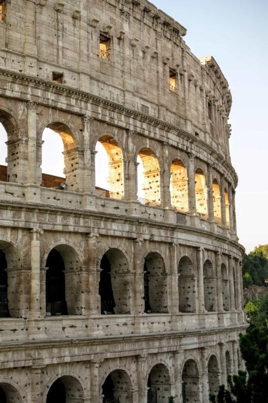 architecture, amphitheater, Rome, Italy, medieval, Colosseum, ancient, old