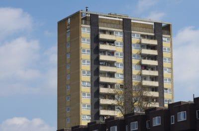 αρχιτεκτονική, μπλε του ουρανού, διαμέρισμα, στο κέντρο της πόλης, πόλης, παράθυρο, αστικό, αστικό τοπίο