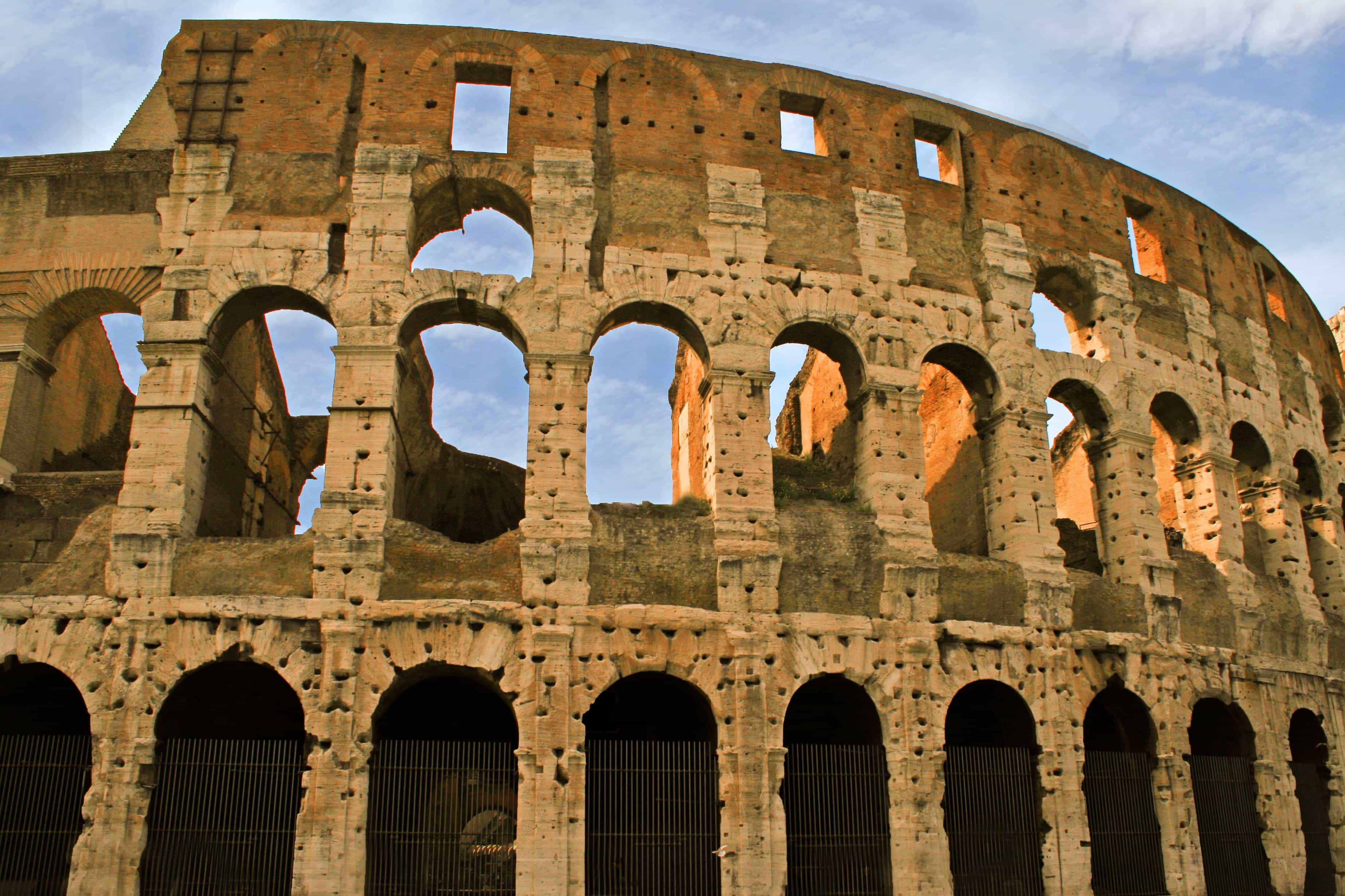 Free Picture Colosseum Ancient Architecture
