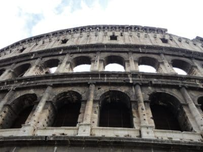 Colosseum, stadium, architecture, amphitheater, Rome, Italy, medieval, ancient