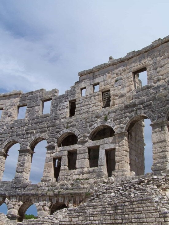 ancient, architecture, old, Rome, Italy, medieval, archaeology, stone, ruin