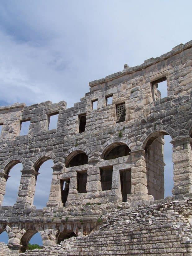 antique, architecture, ancien, Rome (Italie), archéologie médiévale, Pierre, ruiner
