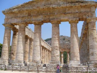gamle, arkitektur, temple, arkæologi, sten, gamle