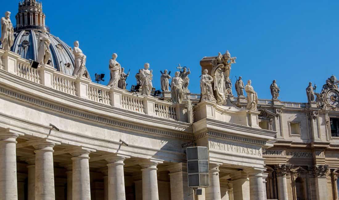 architecture, sky, temple, facade, blue sky, landmark, palace