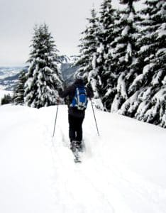 snow, winter, sport, cold, skier, adventure, mountain, ice