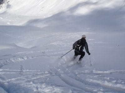 snow, sport, winter, mountain, skier, ice, cold, ascent, sport