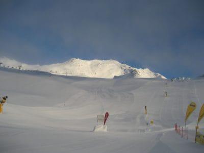 snow, sport, hill, winter, ice, mountain, landscape, sky, cold, glacier
