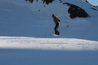 snow, winter, cold, skier, jump, sport, mountain, ice, snowboard