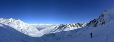 雪、スキー、スポーツ、スキーヤー、冬、山、冷たい、氷、氷河、風景