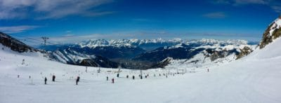 neige, hiver, ski, sport, montagne, froid, sport, skieur, gens, skieur
