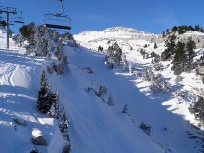 tuyết, mùa đông, độ cao, lạnh, núi, vận động viên, Trượt tuyết, băng