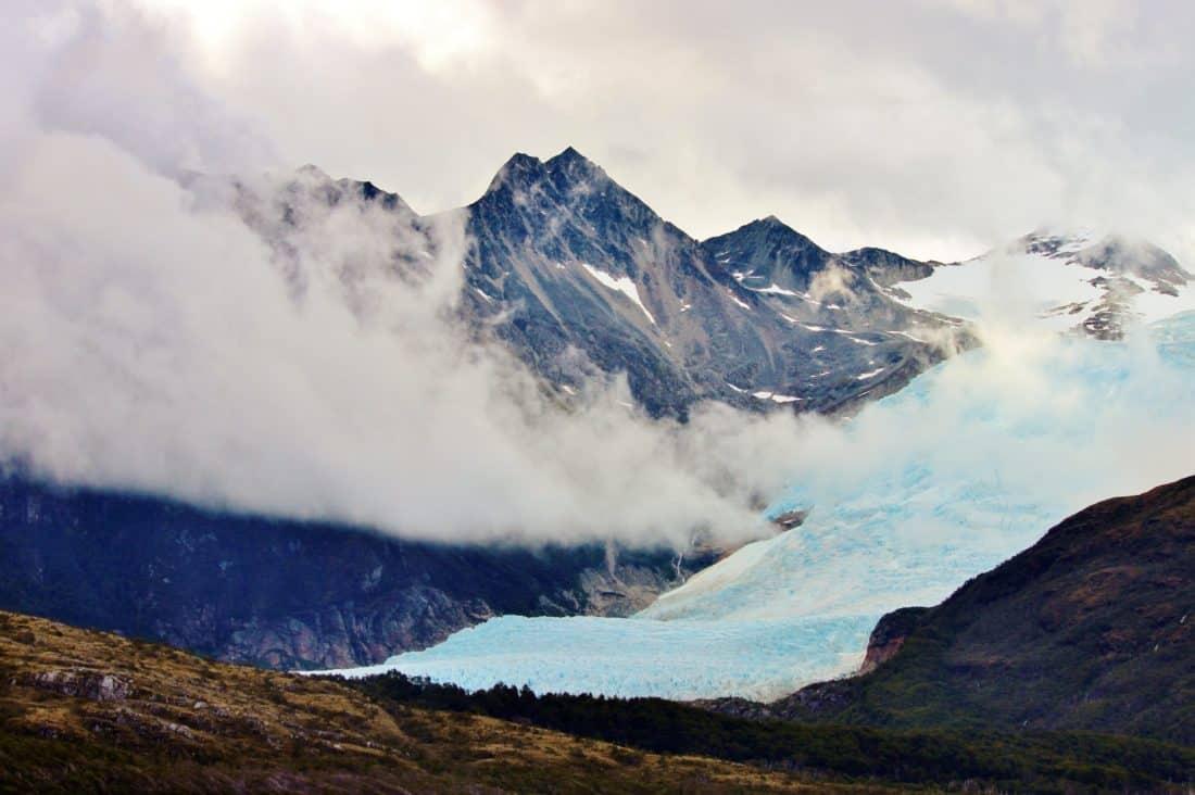 montagna, cresta, altitudine, neve, paesaggio, ghiacciaio, cielo, ghiaccio, all'aperto