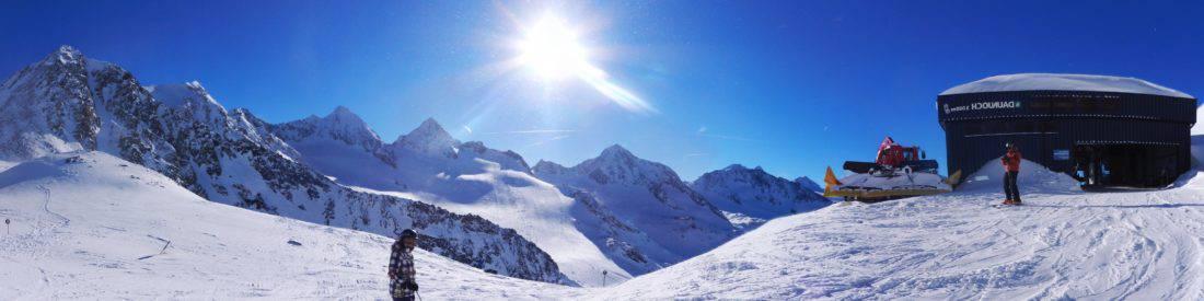 nieve, esquí, deporte, esquiador, montaña, invierno, frío, glaciares, paisaje, hielo