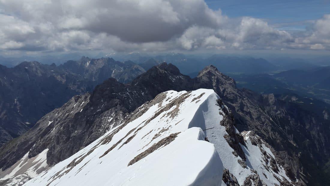 neve, cresta, altitudine, montagna, inverno, freddo, ghiaccio, ghiacciaio, paesaggio